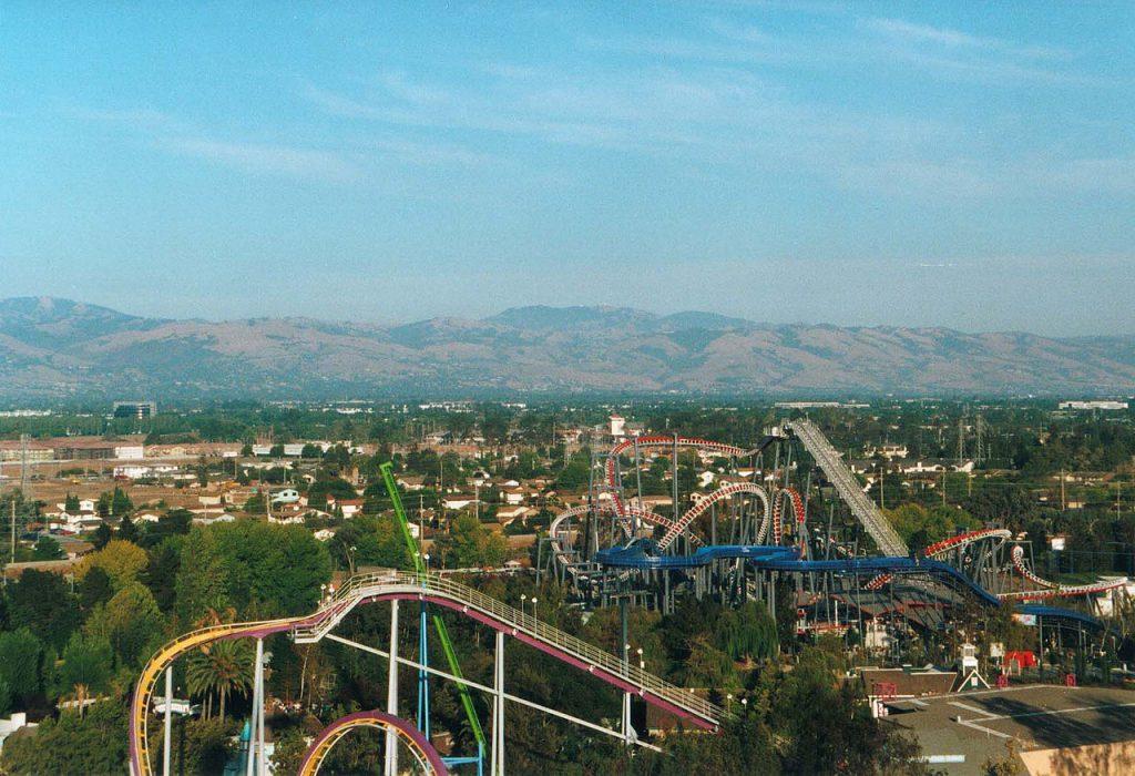 Paramount's_Great_America_San Jose CA Amusement Park