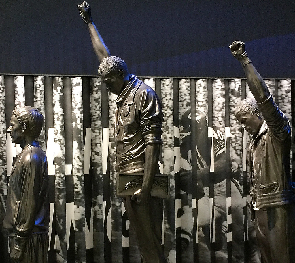 Olympic Black Power Statue - Photo by Ron Cogswell