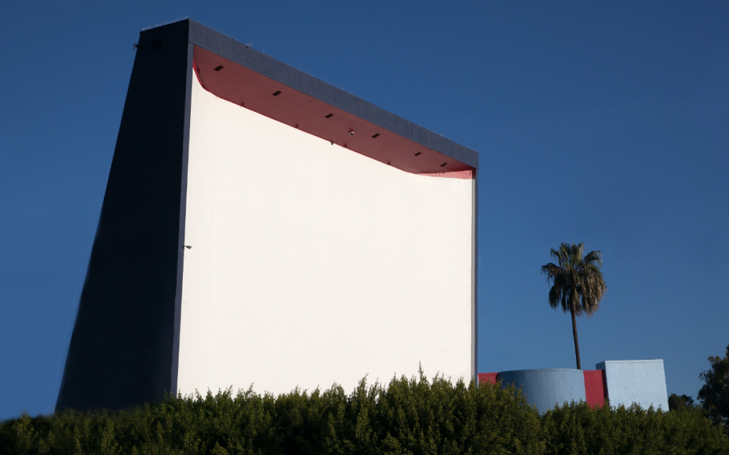 southern california drive in movie theatre