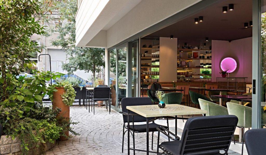 restaurant near the micro apartments