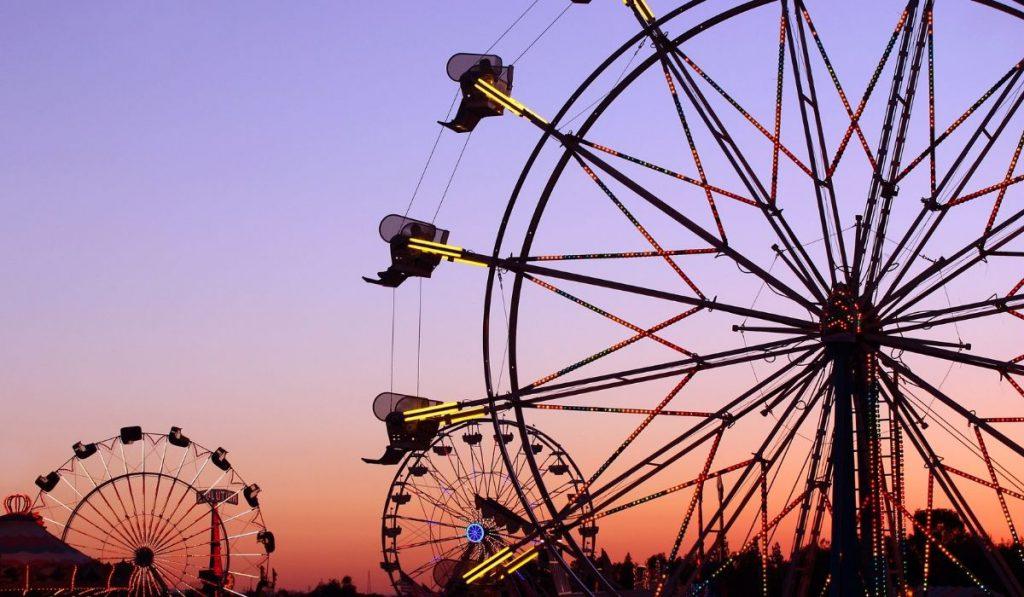 ferris wheel in the California State Fair